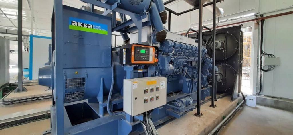نصب و راهاندازی واحد جدید نیروگاه برق شرکت کشت و صنعت دعبل خزاعی